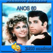 PENDRIVE 16 GIGAS GRAVADO MUSICAS MUSICAS ANOS 60