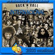 PENDRIVE 16 GIGAS GRAVADO MUSICAS ROCK INTERNACIONAL