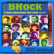PENDRIVE 16 GIGAS GRAVADO MUSICAS ROCK NACIONAL ANOS 80 E 90