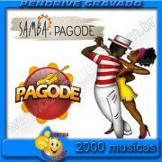 PENDRIVE 16 GIGAS GRAVADO MUSICAS SAMBA E PAGODE