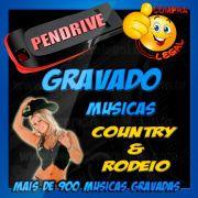 PENDRIVE GRAVADO COLETÂNEA MUSICA COUNTRY E RODEIO