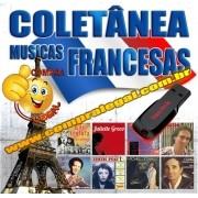 PENDRIVE GRAVADO COLETÂNEA MUSICAS FRANCESAS