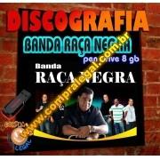 PENDRIVE GRAVADO COM MUSICAS DISCOGRAFIA COMPLETA RAÇA NEGRA