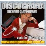 PENDRIVE GRAVADO COM MUSICAS DISCOGRAFIA RICHARD CLAYDERMAN