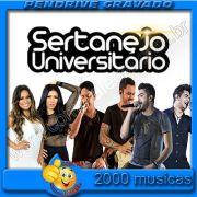 Pendrive Gravado com Musicas Sertanejo Universitário