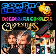 DISCOGRAFIA THE CARPENTERS GRAVADA NO PENDRIVE