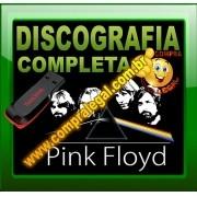 PENDRIVE GRAVADO DISCOGRAFIA PINK FLOYD