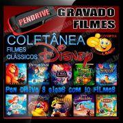 PENDRIVE GRAVADO FILMES CLASSICOS DISNEY