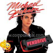 PENDRIVE GRAVADO MUSICAS MICHAEL JACKSON