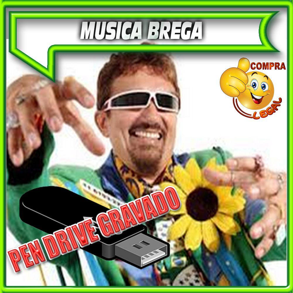 PENDRIVE GRAVADO MUSICA BREGA