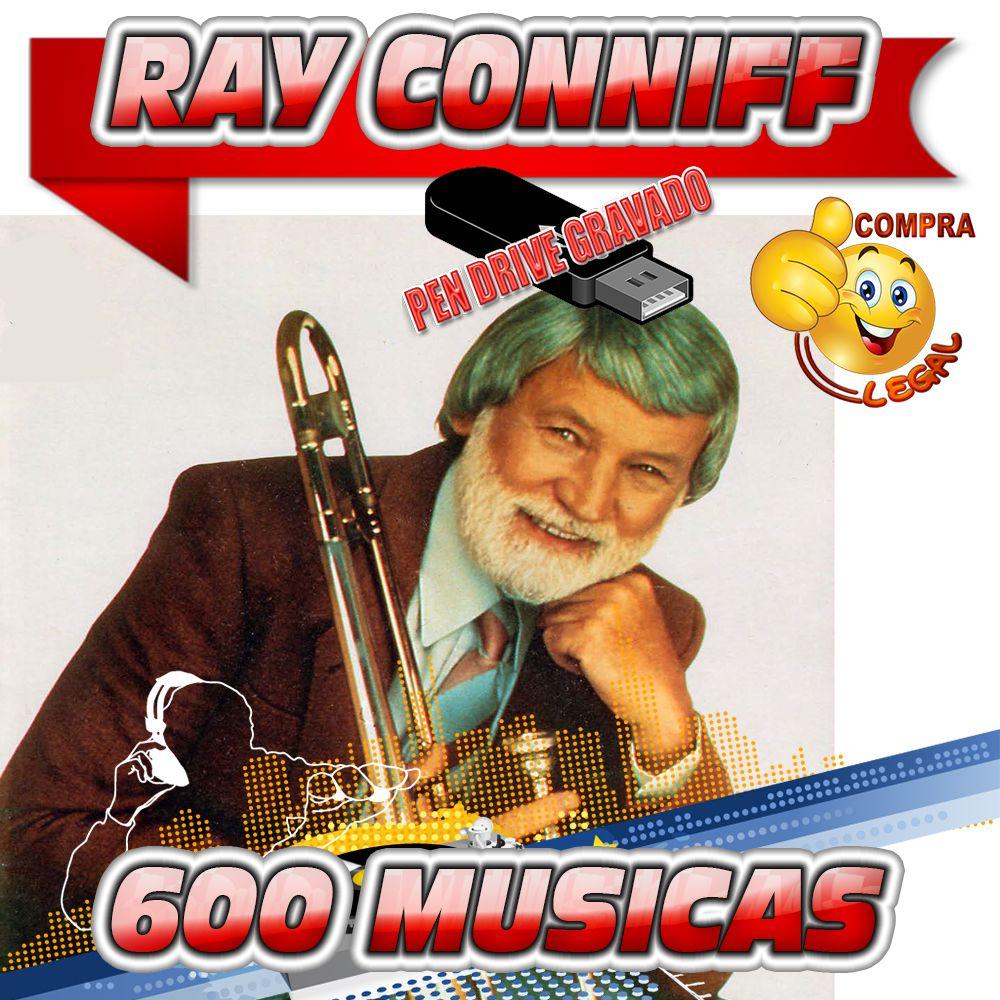 PENDRIVE GRAVADO MUSICAS DISCOGRAFIA RAY CONNIFF