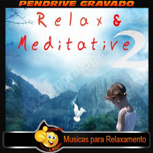 KIT 2 PENDRIVES GRAVADOS MUSICAS BON JOVI E MUSICAS RELAXAMENTO