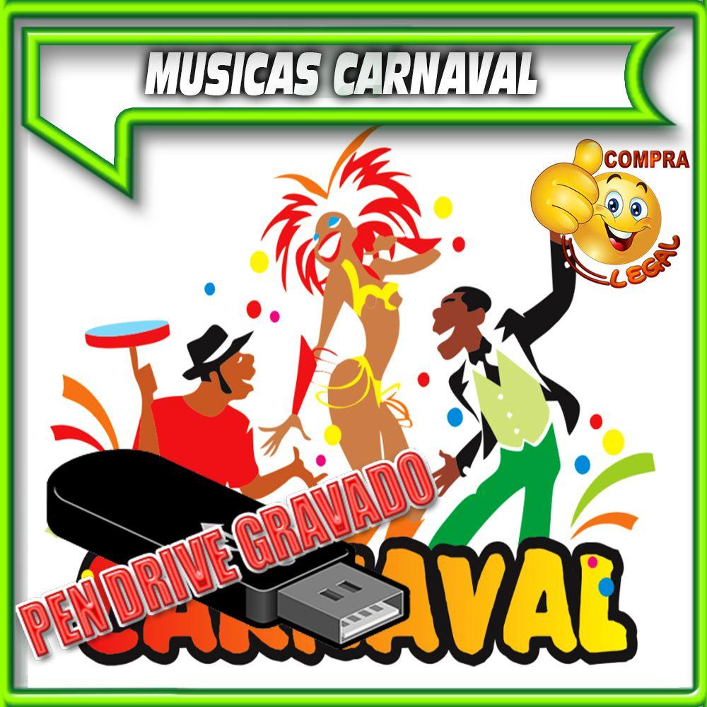 PENDRIVE 16 GIGAS GRAVADO MUSICAS COLETÂNEA CARNAVAL E AXÉ ANTIGO