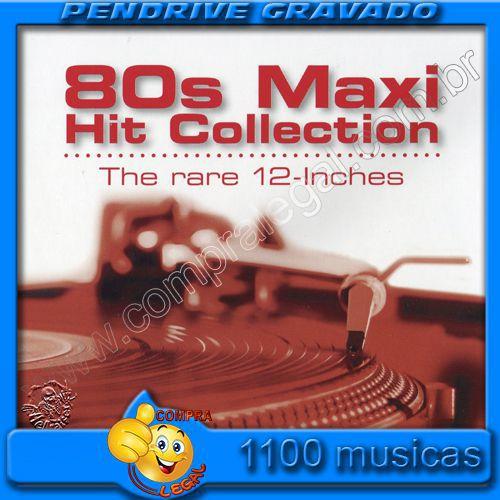 PENDRIVE 16 GIGAS GRAVADO MUSICAS DANCE ANOS 80
