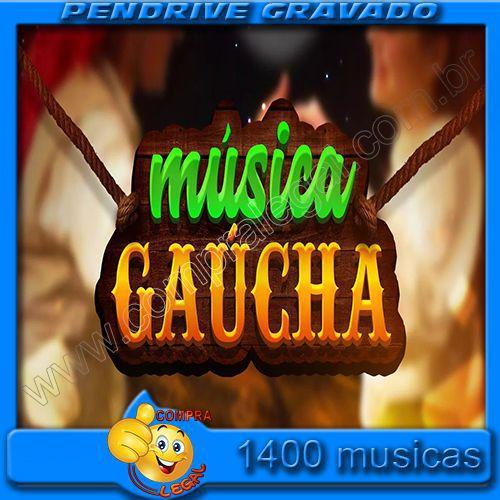 PENDRIVE 16 GIGAS GRAVADO MUSICAS GAUCHAS