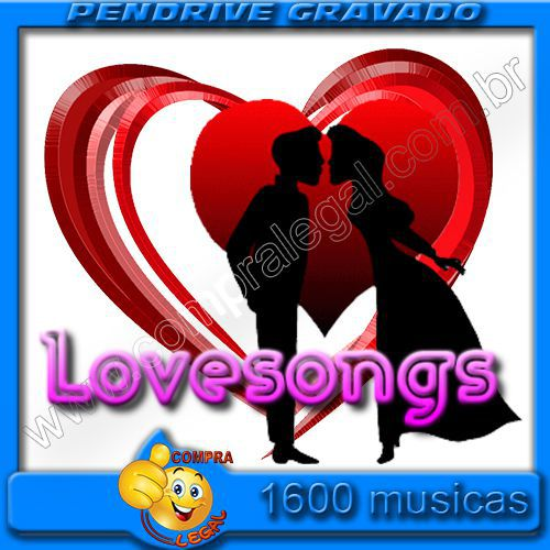 PENDRIVE 16 GIGAS GRAVADO MUSICAS LOVE SONGS