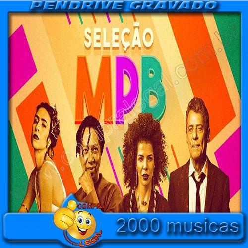 PENDRIVE 16 GIGAS GRAVADO MUSICAS MPB