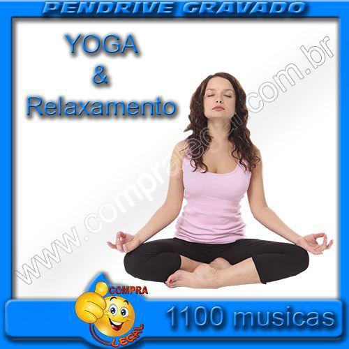 PENDRIVE 16 GIGAS GRAVADO MUSICAS YOGA, RELAXAMENTO E MEDITAÇÃO