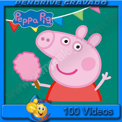 PENDRIVE 16 GIGAS GRAVADO VIDEOS PEPPA PIG