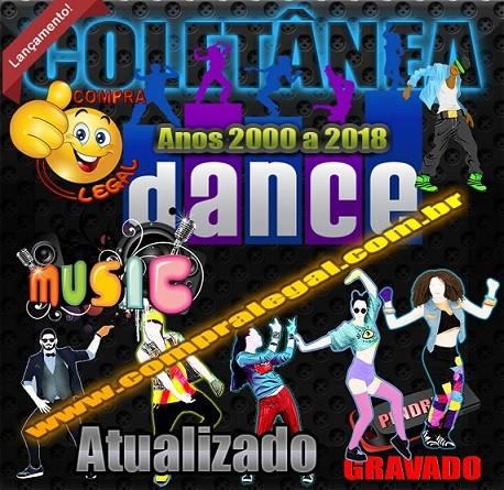 PENDRIVE GRAVADO COLETÂNEA DANCE ANOS 2000 À 2018