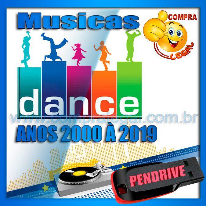 PENDRIVE GRAVADO COLETÂNEA MUSICAS DANCE ANOS 2000 À 2019