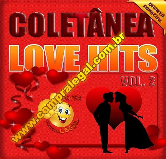 PENDRIVE GRAVADO MUSICAS LOVE HITS  VOL.2