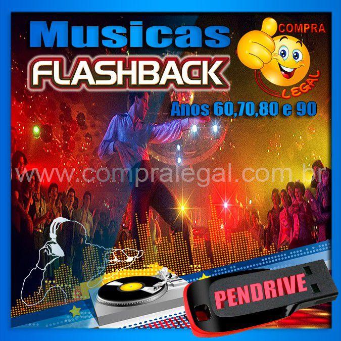PENDRIVE GRAVADO COM MUSICAS ANOS 60,70,80,90