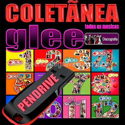 PENDRIVE 16 GIGAS GRAVADO MUSICAS COLETÂNEA GLEE