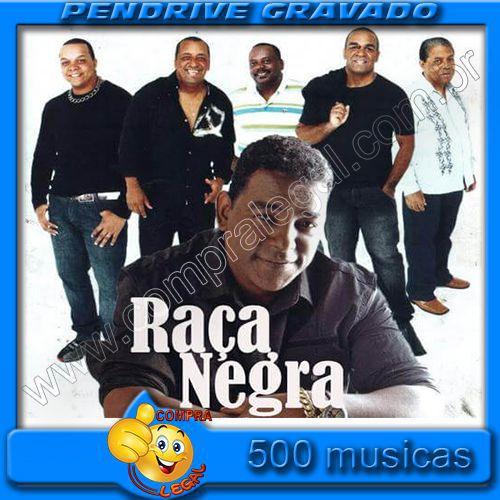 Pendrive Gravado com Musicas Discografia Banda Raça Negra