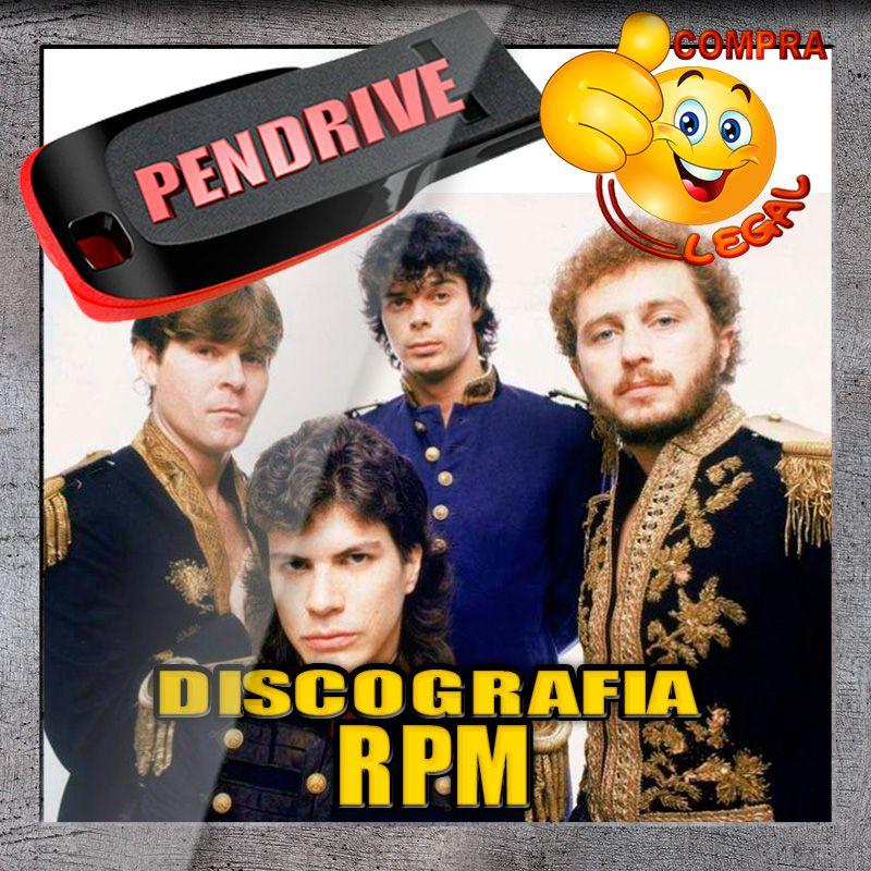 PENDRIVE GRAVADO DICOGRAFIA RPM