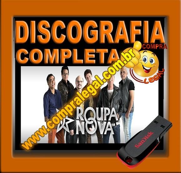 PENDRIVE GRAVADO DISCOGRAFIA ROUPA NOVA