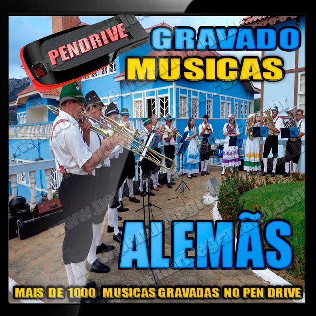 PENDRIVE GRAVADO MUSICAS ALEMÃS
