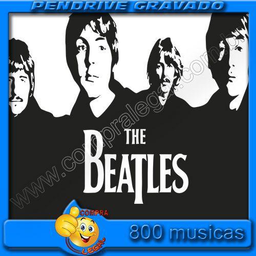 PENDRIVE GRAVADO MUSICAS BEATLES