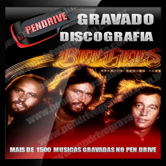PENDRIVE GRAVADO MUSICAS BEE GEES