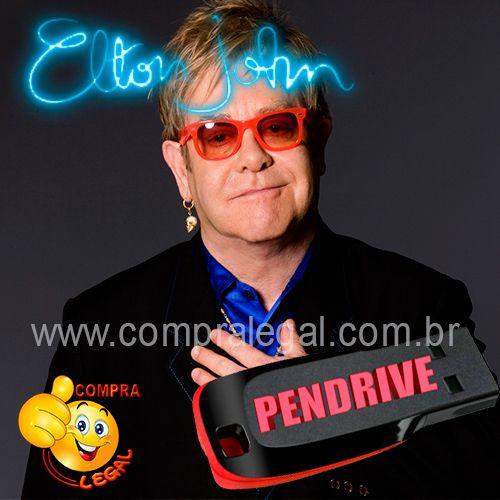 PENDRIVE GRAVADO MUSICAS ELTON JOHN