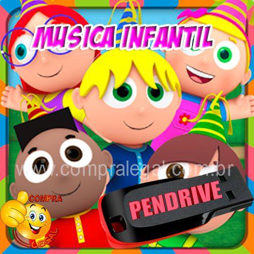 PENDRIVE 16 GIGAS GRAVADO MUSICAS INFANTIS