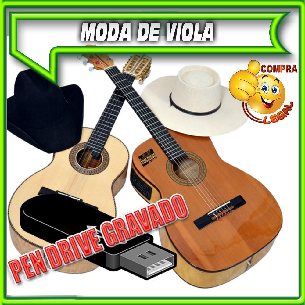 PENDRIVE GRAVADO MUSICAS MODA DE VIOLA E SERTANEJO RAIZ