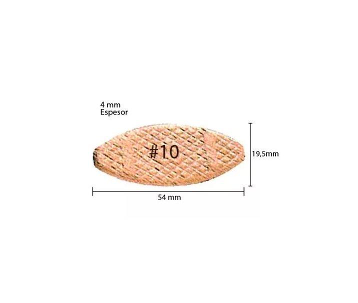 Biscoito Fresadora De Junção #10 4mm A-16938 Original Makita