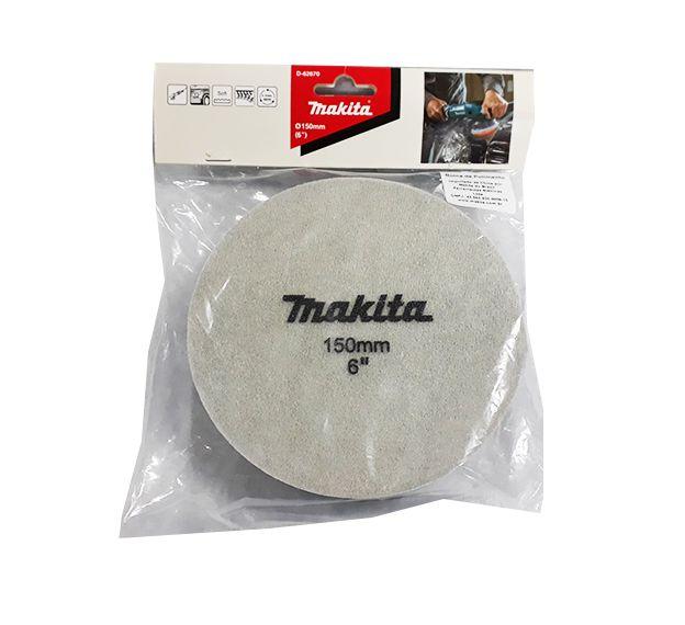 Boina Preta Original para Polimento Politriz Makita