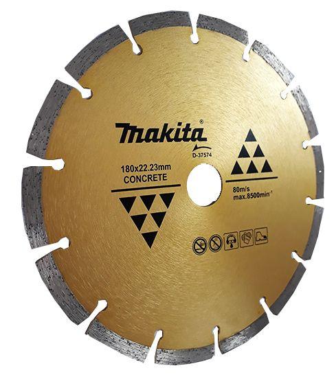 Disco Diamantado 180mm Segmentado Original Makita D-37574