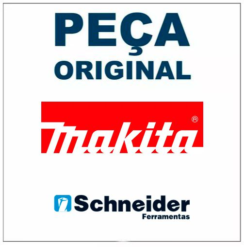 Estator Original Parafusadeira DHP484 Makita 629225-3