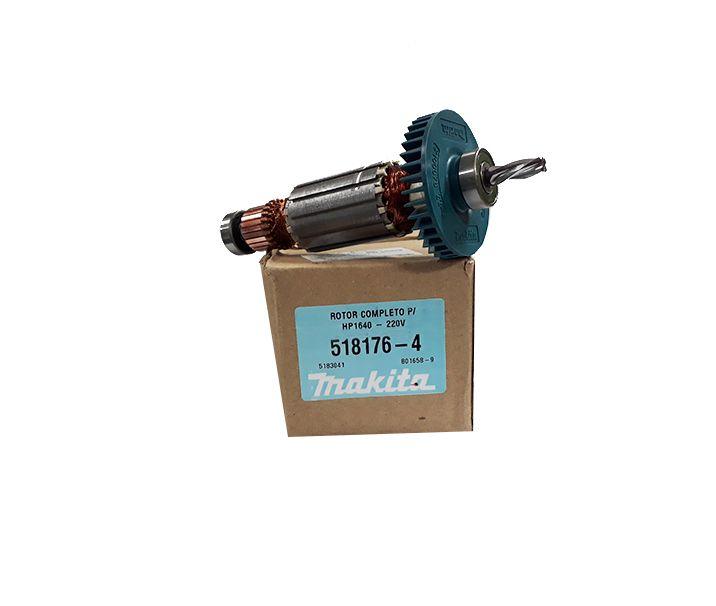 Induzido Original 220V para Furadeira HP1640 Makita