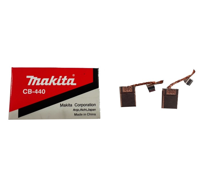 Jogo Escova Carvão Original Makita Cb-440