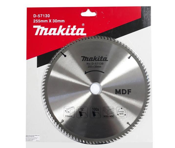 Lâmina de Serra Circular Makita 255mm D-57130