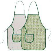 Avental De Cozinha Dupla Face Cacto