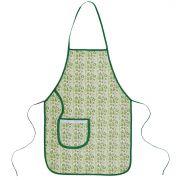 Avental De Cozinha Forro Tecido Cacto