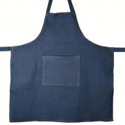 Avental de Cozinha Restaurante Jeans Azul