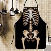 Avental Divertido E Personalizado: Esqueleto