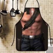 Avental Divertido E Personalizado: Rambo