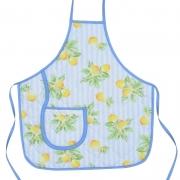 Avental Infantil Azul Limão